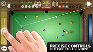 Kings of Pool - Online 8 Ball screenshot for Android