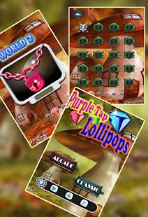Purple Tap Lollipops - náhled