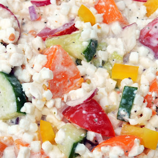 Cottage Cheese Veggie Salad.