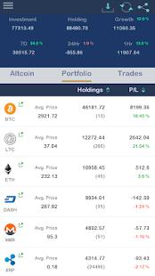 Bitcoin Portfolio & Altcoin Portfolio - náhled