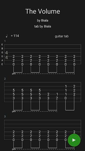 Guitar Tabs X 4.08 screenshots 5