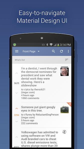 Download APK: BaconReader Premium for Reddit v5.6.6 [Paid]