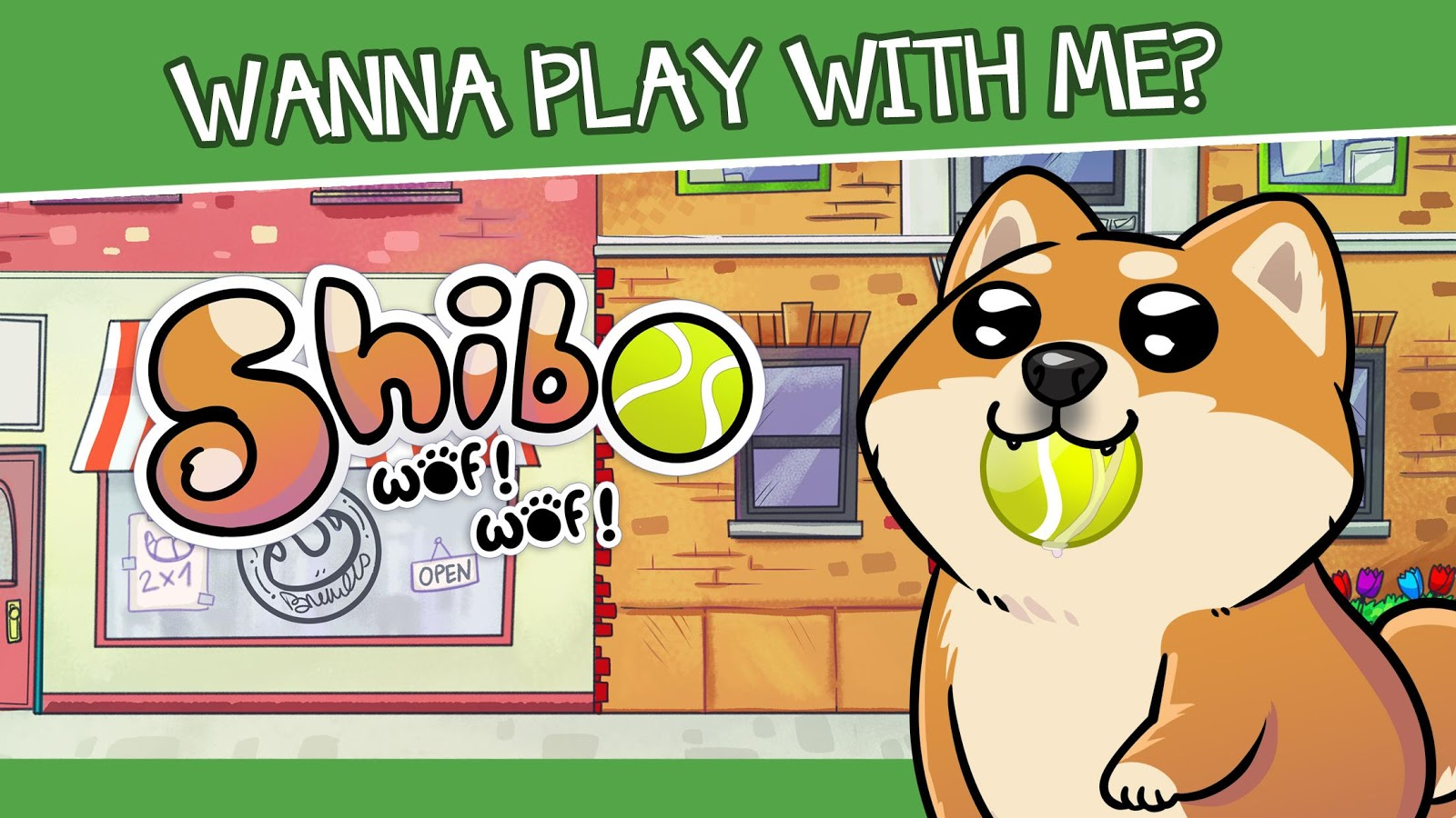 Virtual Dog Shibo – Virtual Pet and Minigames- screenshot