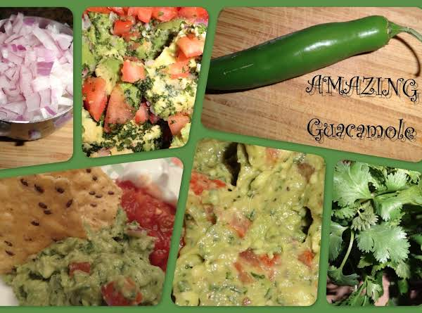 Amazing Guacamole Recipe