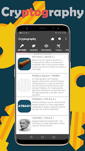 Download APK: Cryptography – Collection of ciphers and hashes v1.7.2 [Unlocked]