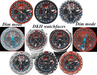 DKH 24H Red 2.0 for Watchmaker - náhled