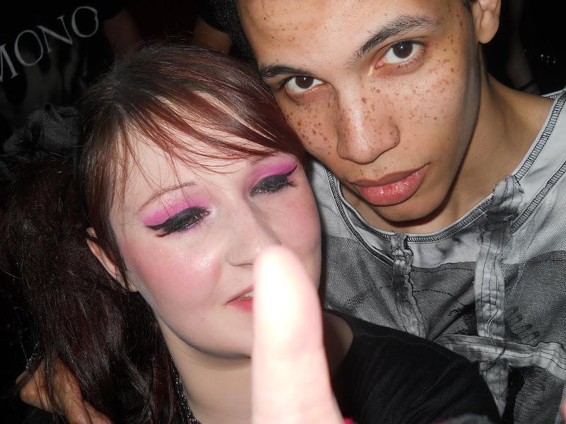 Photo: My false lashes were escaping haha