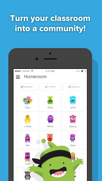 ClassDojo Android App Screenshot