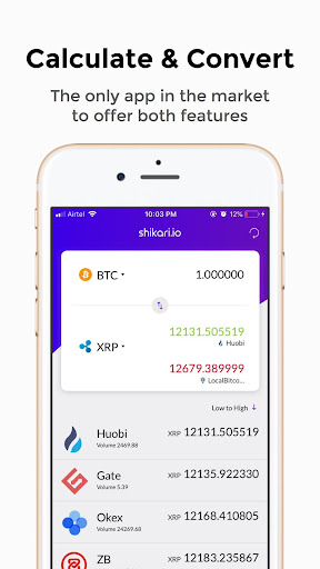 Shikari - Cryptocurrency Calculator and Converter  screenshots 2