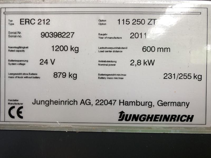 Picture of a JUNGHEINRICH ERC 212