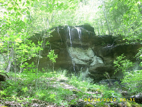 Photo: Upper section of second falls