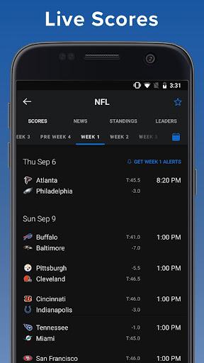 theScore: Live Sports Scores, News, Stats & Videos 6.24.1 screenshots 1