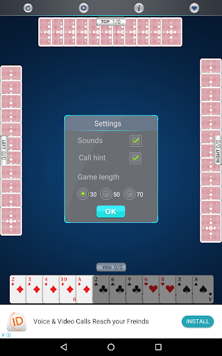 Call Bridge Card Game 1.0.4 gameplay | by HackJr.Pw 5