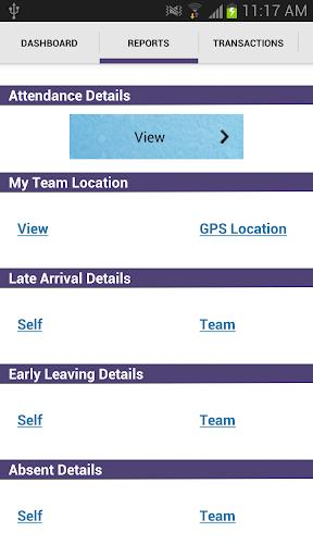 SAMS eLite screenshot 4