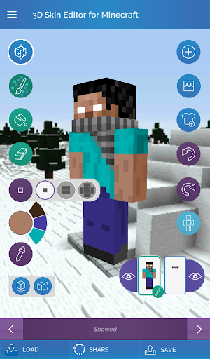 QB9's 3D Skin Editor for Minecraft 2.1.0 screenshots 12