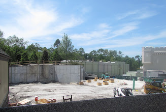 Photo: New restrooms will soon rise from this construction site. Eventually Peter Pan restrooms will close and give them more room for an interactive Peter Pan queue