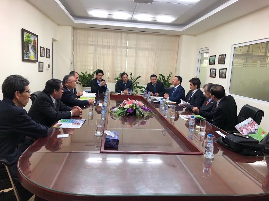 ICC Hà Nội vui mừng đón đoàn Nghị sĩ OITA, Nhật Bản đến thăm và làm việc