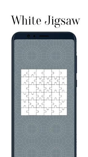 Zen Jigsaw - White Jigsaw Puzzle android2mod screenshots 2