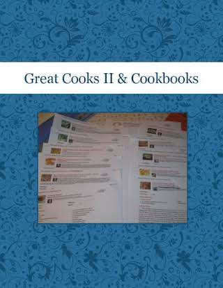 Great Cooks II & Cookbooks
