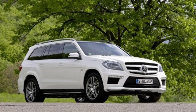 Mercedes GL в Казани