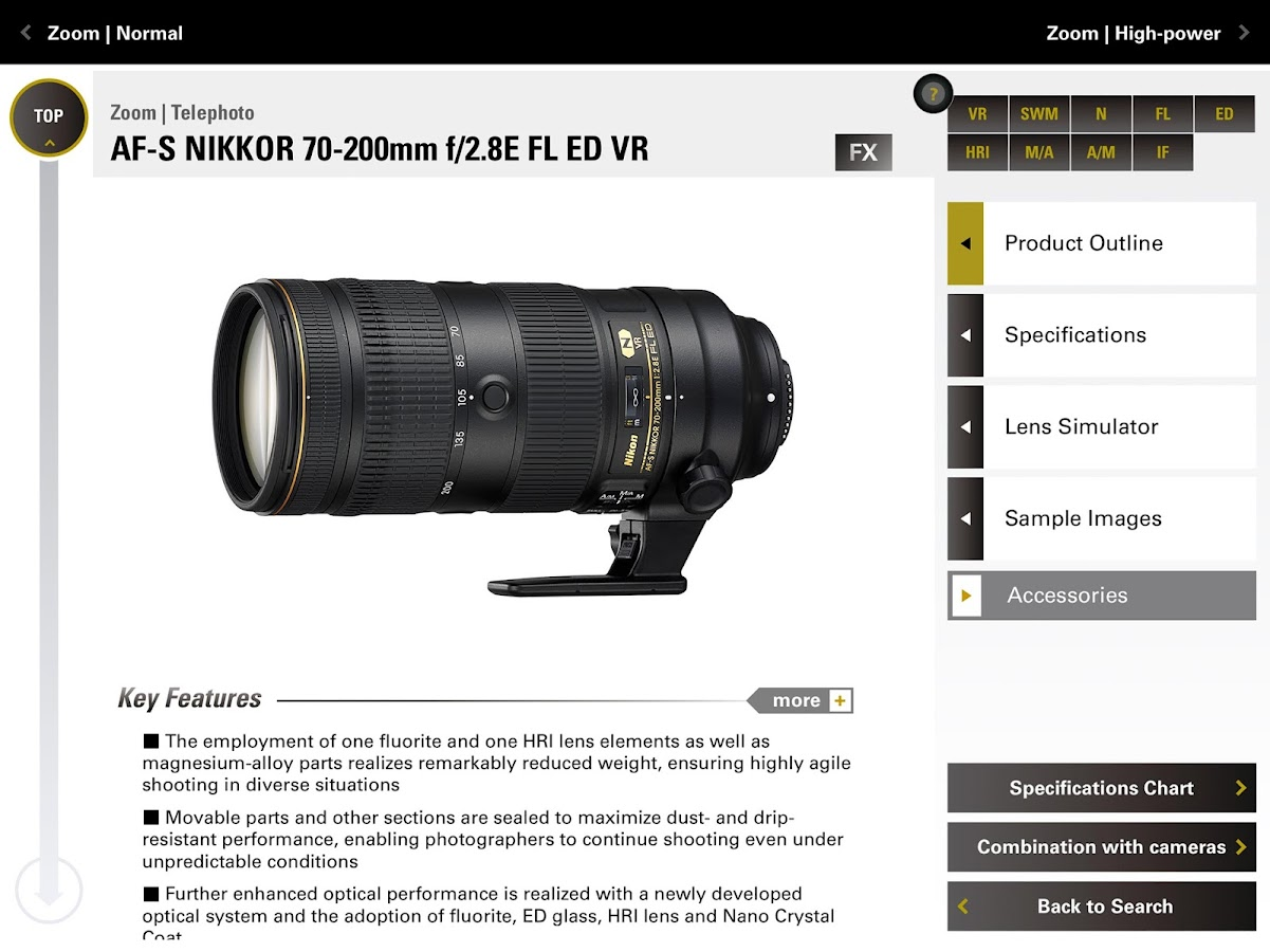 NIKKOR & ACC- screenshot