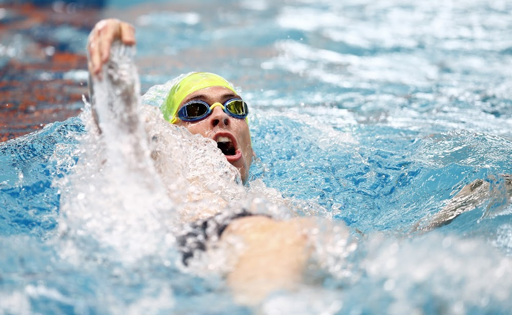 Two SA swimmers in New York team