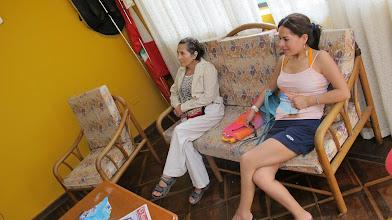 Photo: Sra. Eli Altamirano y Margarita Huanqui