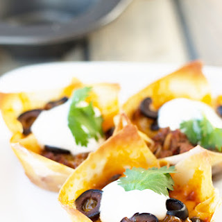 Beef Enchilada Cups