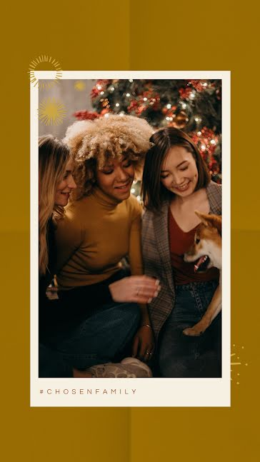 Celebrate Chosen Family - Christmas template