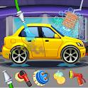 Car Wash Salon Workshop Station icon