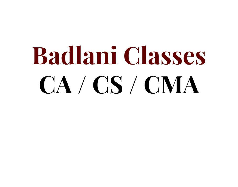Badlani Classes