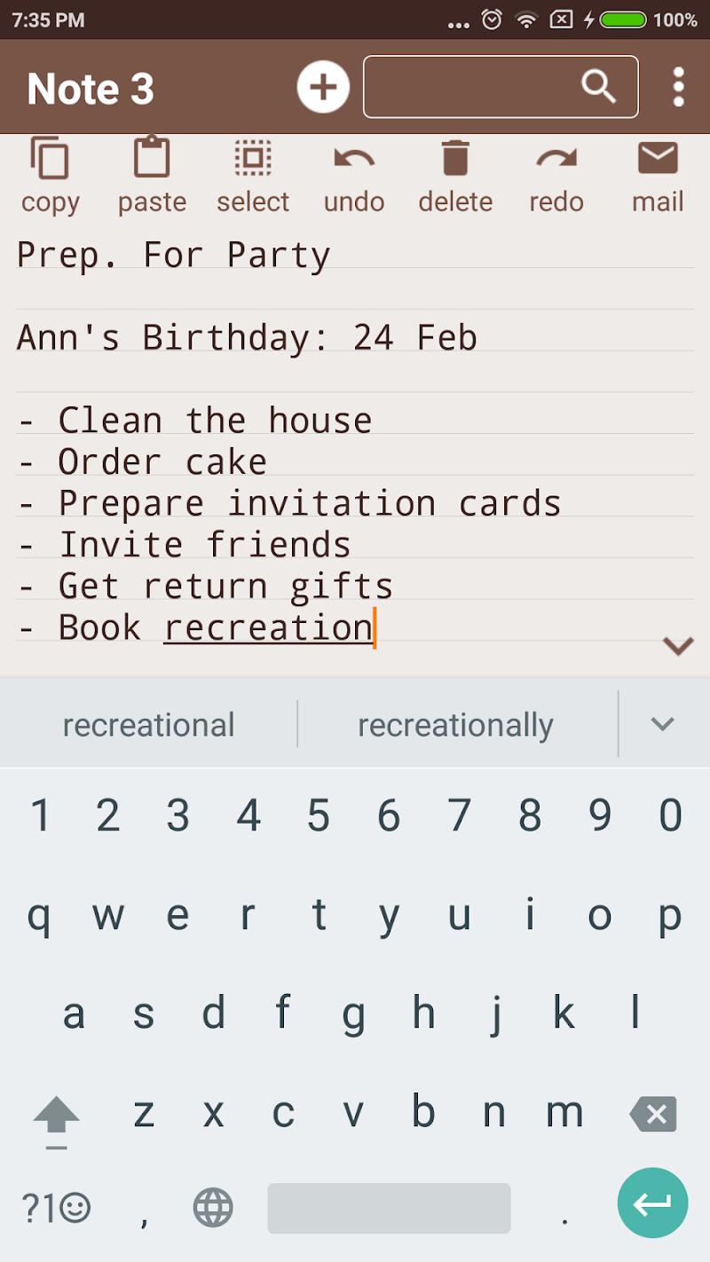 Notepad Pro Screenshot 1