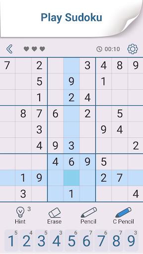 Sudoku: Free Brain Puzzles apkmartins screenshots 1