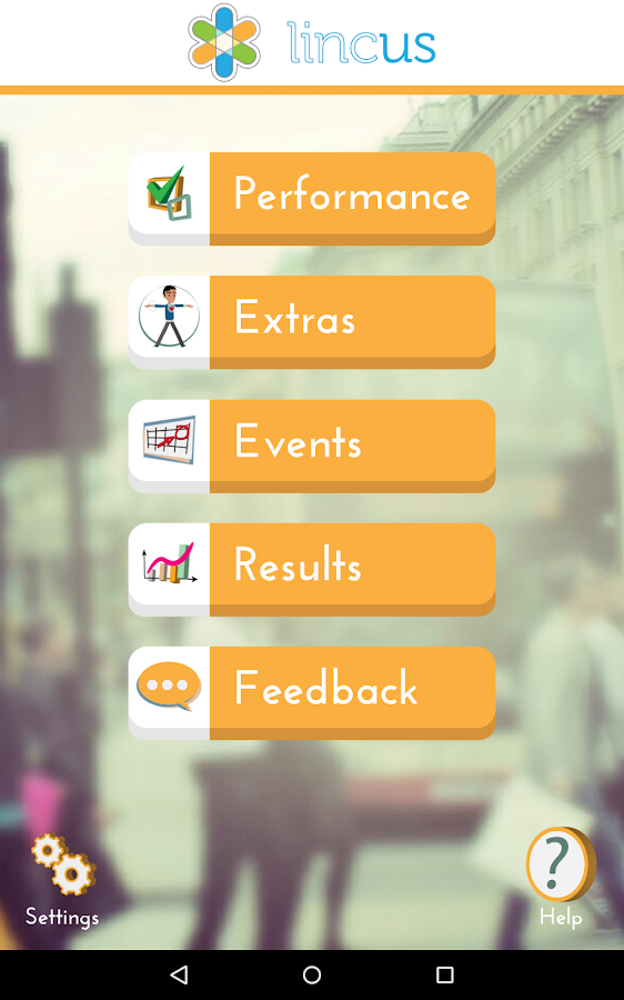Lincus Performance- screenshot