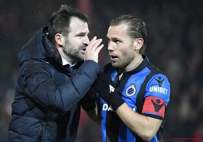 """Le FC Bruges reste sur un 10 sur 30... """"Inquiétant que nous restons sur une si mauvaise série"""""""