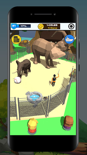 Idle Zoo 3D: Animal Park Tycoon android2mod screenshots 3