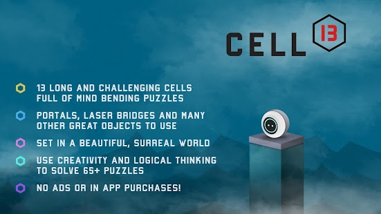 CELL 13 - Platform Portal Puzzle Screenshot