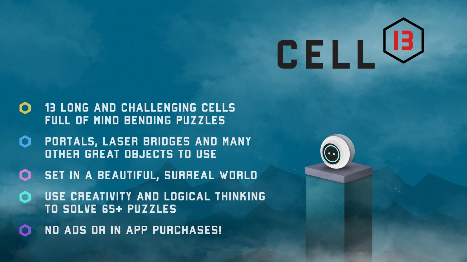 CELL 13 - Platform Portal Puzzle- screenshot