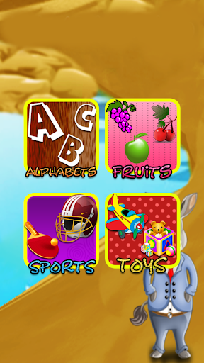 Game matched pictures for kids