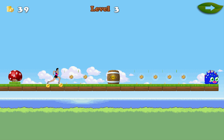 android Beach Jumpy Run Screenshot 4