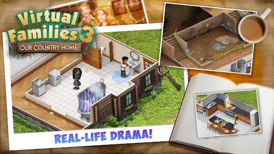 Virtual Families 3 Mod Apk (Unlimited Money) 4