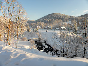 Photo: View from our dining room window Czech Republic
