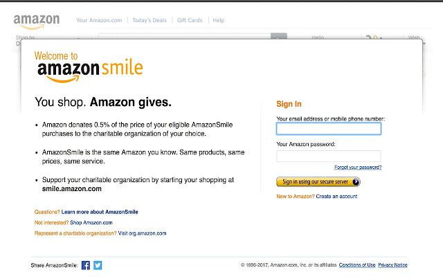 AmazonSmile Auto Redirect