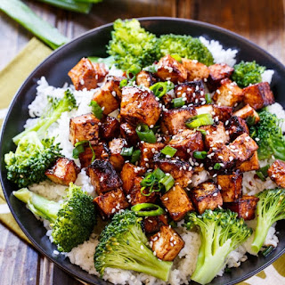 Asian Garlic Tofu.