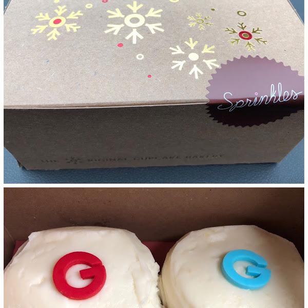 GF Red Velvet & Lemon Blueberry Cupcake! AMAZING!