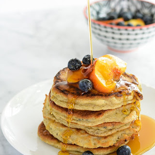 Paleo Peach Pancakes