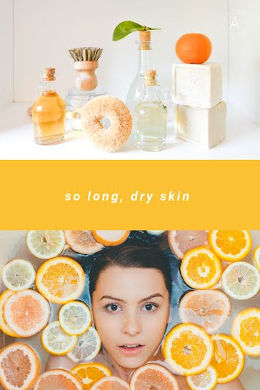 So Long Dry Skin - Pinterest Pin Template