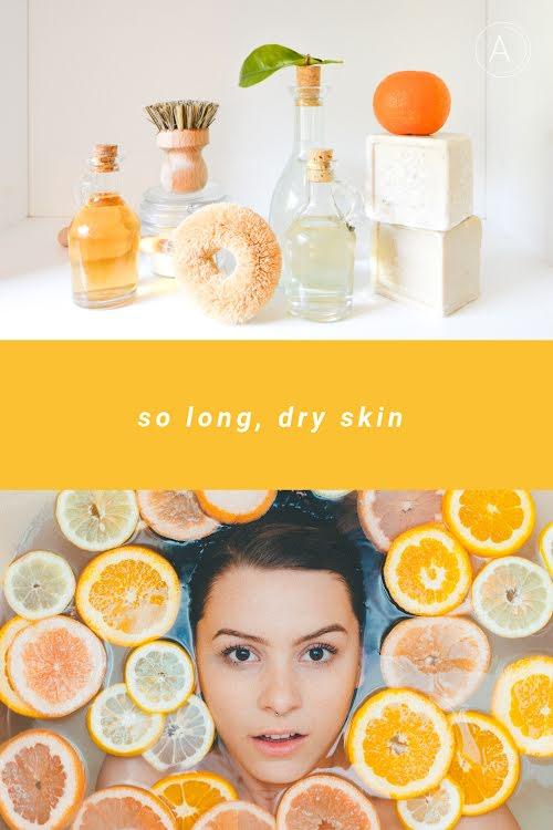 So Long Dry Skin - Pinterest Pin Template