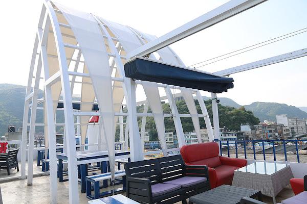 藍白色希臘地中海夢幻海景咖啡廳-地中海CASA CAFE