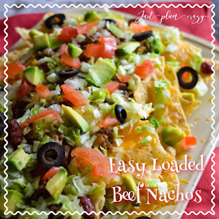 Loaded Beef Nachos